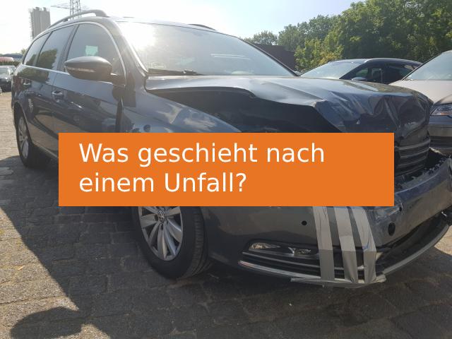 Unfallauto verkaufen nach einem Unfall